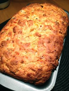 Cheese Bacon and Jalapeno Bread www.theglasgowscullery.com