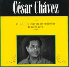 C'Sar Chvez (Leer y Descubrir--Biografias Ilustradas Con Fotografias) (Spanish Edition) by Lucile Davis http://www.amazon.com/dp/1560658088/ref=cm_sw_r_pi_dp_XF9fwb0DAAZSB