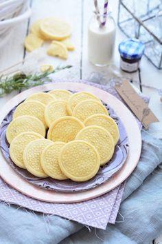 Levendulás keksz recept