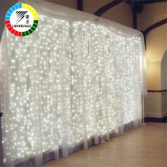 Lights & Lighting L2.5m Led Round Ball Led Curtain Lights Wedding Decoration Lights Christmas Lighting Party Decoration Outdoor Waterproof Ip46 Available In Various Designs And Specifications For Your Selection