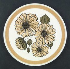 Charmaine - Replacements Ltd. China Dinnerware, Decorative Plates, Pottery, Crown, Auckland, History, Sunflowers, Tableware, Ebay