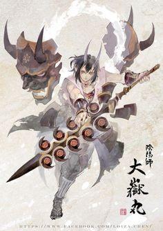 Fantasy Character Design, Character Design Inspiration, Character Concept, Character Art, Pen & Paper, Samurai Artwork, Arte Cyberpunk, Fantasy Inspiration, Dark Fantasy Art