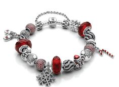 Love this Pandora Christmas bracelet!