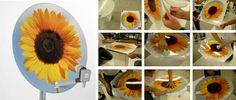 satellite dish art covers