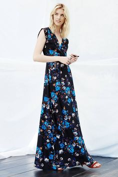Arcadia Silk Maxi Dress - anthropologie.com