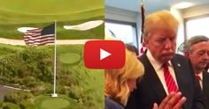 City Tells Trump To Take Down American Flag, So He Does THIS Instead [VIDEO]