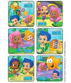 Bubble Guppies - Scenes Stickers