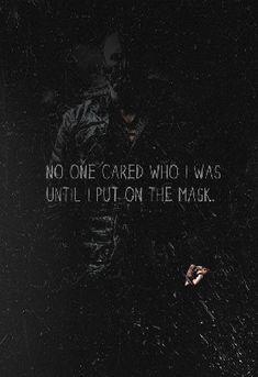Hero vigilante or villain? Dark Knight Quotes, The Dark Knight Trilogy, Dark Quotes, The Dark Knight Rises, Batman The Dark Knight, Dark Knight Zitate, Best Joker Quotes, Bane Batman Quotes, Batman Begins Quotes