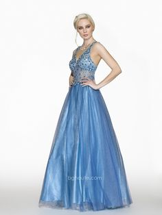 BG Haute Spring/Prom 2014 style #G3115 Blue/Turquiose. www.bghaute.com