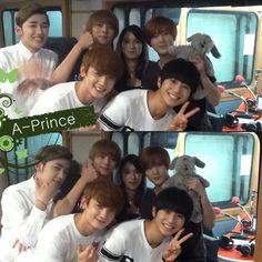 A-PRINCE @ kpoppin studio