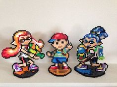 Amiibo Perler - Splatoon, Earthbound, Zelda, Mario + | Animal ...