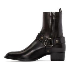 Black Bilton Boots