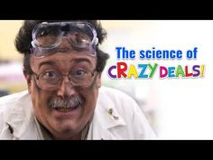 Understand the science of Crazy Deals, is it science or is it aliens?   http://www.oceanstatejoblot.com/crazydeals/