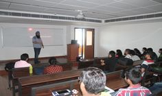 The Department of EECE organized an interactive session on the topic 'Electronics Design and Manufacturing - Finding your way' by Alumni Mr. Karanpreet Singh (ECE Class of 2007) for ECE 2nd Year, EE 3rd Year and EE 4th Year students on 24 March 2017. Mr. Karanpreet is running his own enterprise 'Leaf Bird Electronics' in Delhi since 2012 and is engaged in industrial automation projects and designing MCU based controllers for use with various sensors and other industrial equipment.