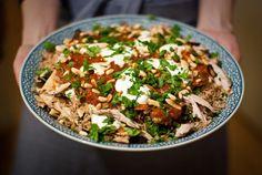 Libanese kip fattee in volle glorie