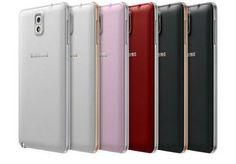 Samsung Galaxy Note 3 disponivel em novas cores