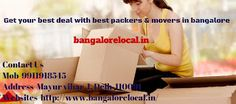 packers and movers bangalore: Local Moving with Packers and Movers Bangalore