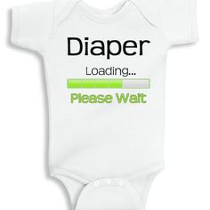 Diaper loading please wait