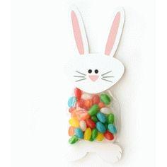 Silhouette Design Store - View Design #77001: bunny treat bag