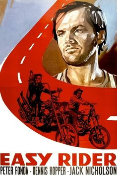 """Nobody went to see """"Easy Rider"""" (1969) only once. It became one of the rallying-points of the late '60s, a road picture and a buddy picture, celebrating sex, drugs, rock 'n' roll, and the freedom of the open road. It did a lot of repeat business while the sweet smell of pot drifted through theaters. Seeing the movie years later is like opening a time capsule..."""