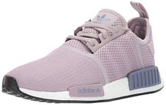 adidas Originals Women's Running Shoe, Soft Vision/Soft Vision/raw Indigo, 7 M US Taking style cues from premium technical outerwear, these shoes blend heritage with modern comfort. The stretchy knit upper is accented with refl. Nmd R1, Adidas Shoes Women, Adidas Sneakers, Nike Women, Indigo, Womens Nmd, Boost Shoes, Workout Shoes, Fashion Designer