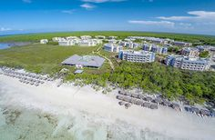 Meliá Jardines del Rey - Aerial View Inclusive Holidays, All Inclusive Resorts, Cayo Coco Cuba, Cuba Hotels, Mont Real, Vacation Days, Win A Trip, White Sand Beach, Aerial View