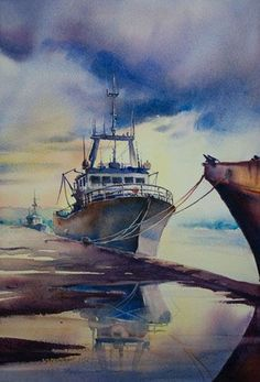 marine watercolors - Aquarelle Watercolor Marichalar