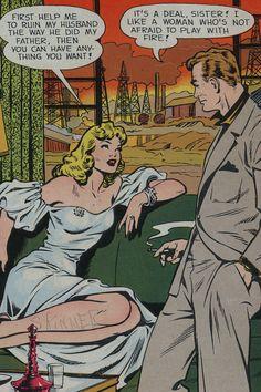 Pop art comic book vintage romance Ideas for 2019 Vintage Pop Art, Vintage Romance, Retro Art, Vintage Ladies, Bd Comics, Comics Girls, Crime Comics, Pop Art Illustration, Illustrations