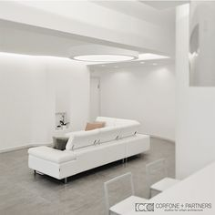 CORFONE+PARTNERS - Interior design Living room - DSS4 HOUSE