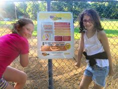 Olive Sterry, left, and Julia Campos-Pereira in Nishuane Park taking SunSmart… Bergen County, Park, Live, Pereira, Parks