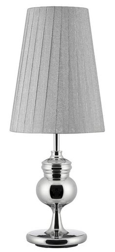 Stolní lampa SEARCHLIGHT SL 1813CC | Uni-Svitidla.cz Klasická pokojová #lampička vhodná jako doplňkové osvětlení domácnosti či kanceláře #functional, #classic, #lamp, #table, #light, #lampa, #lampy, #lampičky, #stolní, #stolnílampy, #room, #bathroom, #livingroom