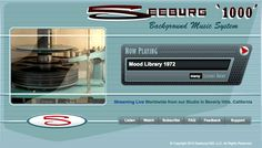 Seeburg 1000 Live streaming background music 24/7 at www.seeburg1000.com