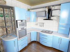 Стильная угловая кухня «Бриз»