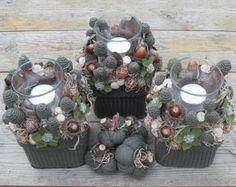Elvarázsolt erdő - őszi asztaldísz készlet , Dekoráció, Otthon, lakberendezés, Dísz, Gyertya, mécses, gyertyatartó, Meska