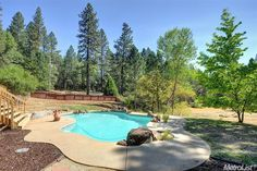4607 Tracy Ln, Garden Valley, CA95633.  Pool, backyard and pasture.