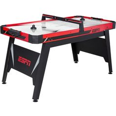 Air Hockey Table Game Room Sports ESPN Electronic Powered Pucks Pushers Accesory | eBay