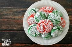 Christmas Crinkle Cool Whip Cookies are a blast to make with the kids! Just be ready to get a little messy!