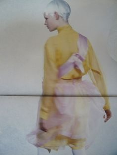 dustulator: Six magazine by Comme des Garcons 1989 Sarah Moon, Rei Kawakubo, Indie Art, Comme Des Garcons, Shades Of Yellow, Color Stories, Mellow Yellow, Painting Patterns, Magazine