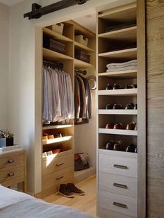 little walk in closet