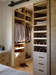 little walk in closet