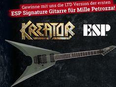 Gewinne mit EMP eine LTD Version der ersten ESP Signature Gitarre!  Beantworte die Wettbewerbsfrage und sichere dir deine Chance im Wettbewerb.  Hier mitmachen und gewinnen: http://www.gratis-schweiz.ch/gewinne-eine-gitarre/  Alle Wettbewerbe: http://www.gratis-schweiz.ch/