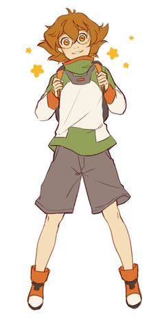 VLD fanart - Pidge Holton smol defender of the universe