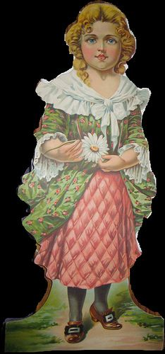 Colonial Paper Doll by Pennelainer, via Flickr