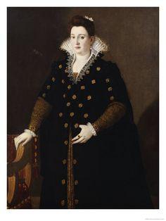 Lavinia Fontana - Portrait of a Noblewoman Said to Be Bianca Cappello, Grand Duchess of Tuscany