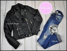 Zestaw idealny Ramoneska + jeans