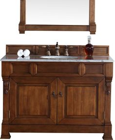Best Photo Gallery For Website Brookfield Single Country Oak Bathroom Vanity Set