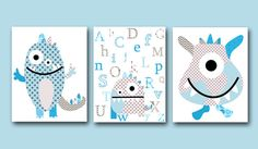 Hey, I found this really awesome Etsy listing at https://www.etsy.com/uk/listing/194474808/monster-nursery-alphabet-nursery-baby