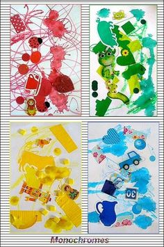 Ideas collage art kids kindergarten for 2019