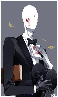 Who is he by PSlenDy on deviantART Slenderman