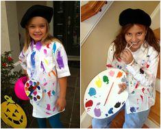Maler Artist Kostüm Barett Mütze #carnival #costumes #kids